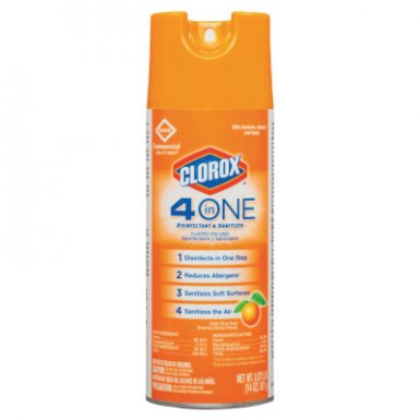 Clorox CLO31043CT 4 in One Disinfectant & Sanitizer