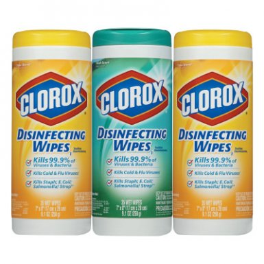 Clorox CLO30112 Disinfecting Wipes