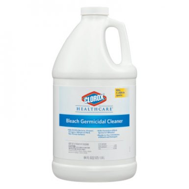 Clorox CLO68967CT Healthcare Bleach Germicidal Cleaner