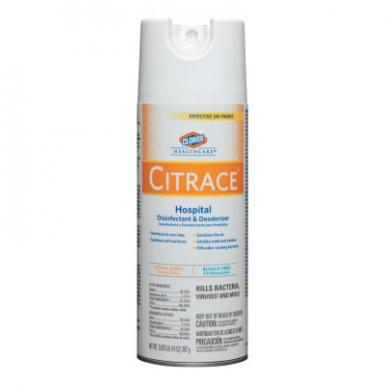Clorox CLO49100 Healthcare Citrace Hospital Disinfectant & Deodorizer