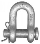 CM Columbus McKinnon M551G Round Pin Chain Shackles