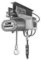 CM Columbus McKinnon 9316 Series 635 Lodestar Motor Driven Trolleys