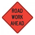 Cortina 737415024207 Road Work Ahead Signs