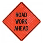 Cortina 737415018862 Road Work Ahead Signs