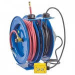 Coxreels C-L350-5012-B C Series Combination Spring Driven Air Hose Reels