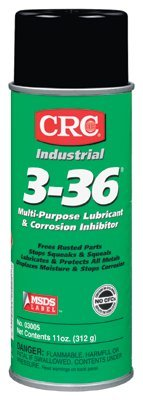 CRC 3005 3-36 Multi-Purpose Lubricants & Corrosion Inhibitors