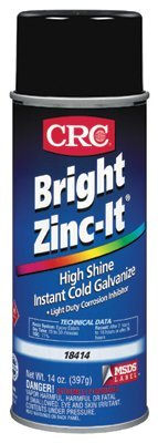 CRC 18414 Bright Zinc-It Instant Cold Galvanize