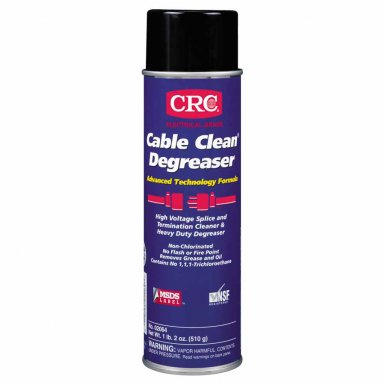 Cable Clean Degreasers