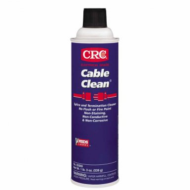 CRC 2069 Cable Clean High Voltage Splice Cleaner