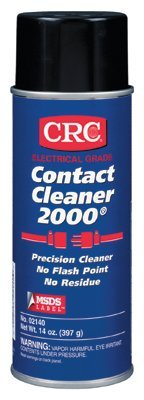 CRC 2140 Contact Cleaner 2000 Precision Cleaners