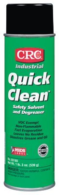 Quick Clean Safety Solvents and Degreasers