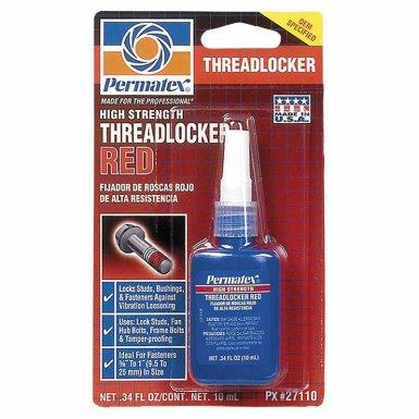 Devcon 27110 Permatex High Strength Red Threadlocker