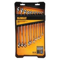 DeWalt DWMT72166 10 Piece Combination Wrench Sets