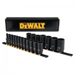 DeWalt DWMT19239 19 Piece Deep Impact Socket Sets
