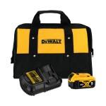 DeWalt DCB205CK 20V MAX* 5.0AH Battery Charter Kit, with Bag