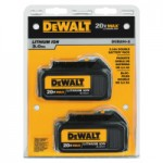 DeWalt DCB200-2 20V MAX* Lithium Ion Batteries