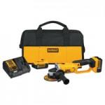 DeWalt DCG412P2 20V MAX* Lithium Ion Grinder Tool Kits