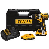 DeWalt DCD791D2 20V MAX* XR Lithium Ion Brushless Compact Drill/Driver Kits