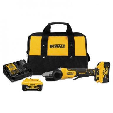 DeWalt DCG413FR2 20V MAX* XR Brushless Small Angle Grinder Kits with Kickback Brakes