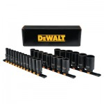 DeWalt DWMT19242 26 Piece Deep Metric Impact Socket Sets