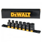 DeWalt DWMT19260 7 Piece Internal Torx Impact Socket Sets