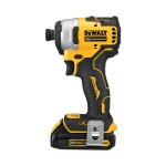 DeWalt DCF809C2 Atomic Compact Series 20V MAX Brushless 1/4 in Impact Driver Kits