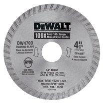 DeWalt DW4700 Continuous Rim Diamond Blades