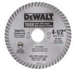 DeWalt DW4701 Continuous Rim Diamond Blades