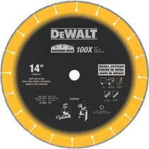 DeWalt DW8500 Diamond Edge Chop Saw Blades