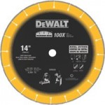 DeWalt DW8500 Diamond Edge Chop Saw Blades