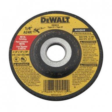 DeWalt DW8427H High-Performance Metal Grinding/Cutting Wheels