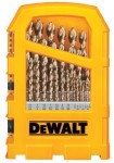 DeWalt DW1969 Pilot Point 29-Piece Gold Ferrous Oxide Drill Bit Sets