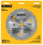 DeWalt DW3571 Portable Construction Saw Blades