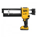 DeWalt DCE595D1 Powers by DeWalt Cordless Caulk Gun