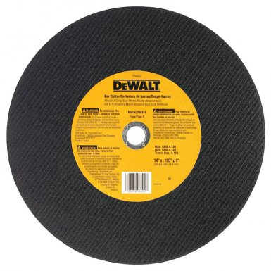DeWalt DW8002 Type 1 - Cutting Wheels