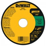 DeWalt DW8072 Type 1 HP Masonry Cutting Wheel