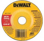 DeWalt DW8406 Type 27 Depressed Center Wheels