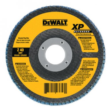 DeWalt DW8270 Type 27 XP High Density Flap Discs