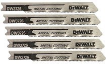 DeWalt DW3724-5 U Shank Metal Cutting Jig Saw Blades