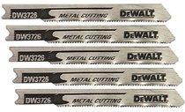 DeWalt DW3712-5 U Shank Wood Cutting Jig Saw Blades