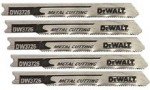 DeWalt DW3712-5 U Shank Wood Cutting Jig Saw Blades