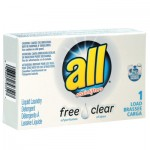 Diversey 2979351 All Free Clear HE Liquid Laundry Detergent Vend-Box