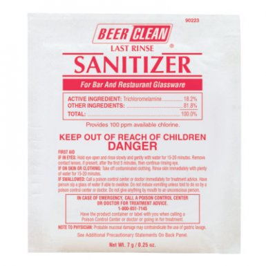 Diversey DVO90223 Beer Clean Last Rinse Sanitizer