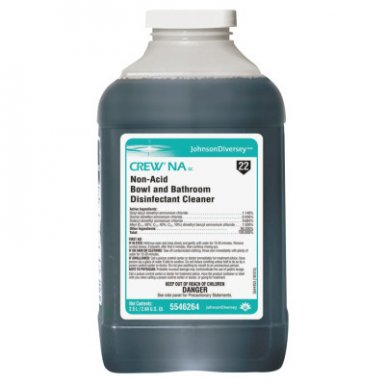 Diversey DVO5546264 Crew NA SC Non-Acid Bowl and Bathroom Disinfectant Cleaner