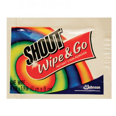 Diversey 686661 Shout Wipe & Go Instant Stain Remover
