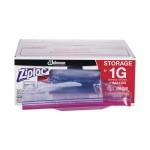 Diversey SJN682257 Ziploc Double Zipper Storage Bags