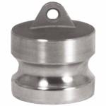 Dixon Valve 150-DP-BR Andrews/Boss-Lock Type DP Cam and Groove Dust Plugs