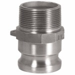 Dixon Valve 200-F-BR Andrews/Boss-Lock Type F Cam and Groove Adapters