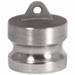Dixon Valve 400-DP-AL Andrews/Boss-Lock Type DP Cam and Groove Dust Plugs