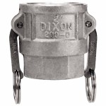 Dixon Valve 300-D-AL Andrews Type D Cam and Groove Couplers